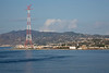 Passing by Sicily thru the Strait of Messina in route to Mykonos, Greece