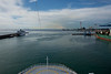 Leaving Rome's port, Civitavecchia, to start our cruise