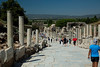 Ceretes Street: one of the three main streets of Ephesus between The Hercules Gate till to the Celsus Library.  There were fountains, monuments, statues and shops on the sides of the street. The shops on the south side were two-storied. <br /> There were also many houses on the slope.These were used by the rich of Ephesians
