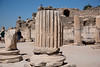 The Odeon was a small roofed theater] constructed by Vedius Antonius and his wife around 150 AD. It was a small salon for plays and concerts, seating about 1,500 people