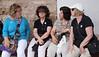 Fran, Angie, Josie, Kay in Topkapı Sarayı coutyard