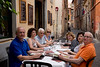 We ate lunch our first afternoon in Rome at a small Pizzeria