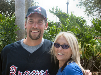 Me and my Smoltz - Spring 2009