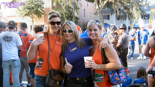 LSU / Gator Game - Oct 9 2010