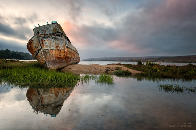 Beached Tug at Pt. Reyes