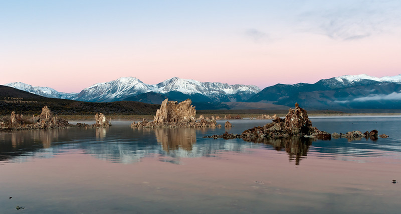 Mono Lake Twilight Reflections