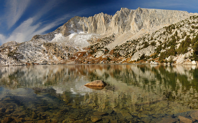 Ruby Lake in SE Sierra