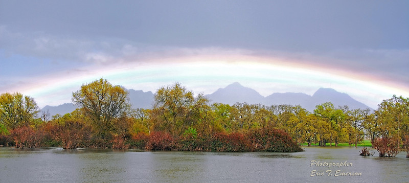 Sutter Buttes Rainbow