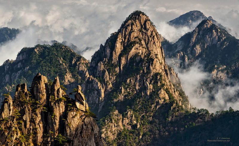 Yellow Mountains, Huangshan, Anhui Province