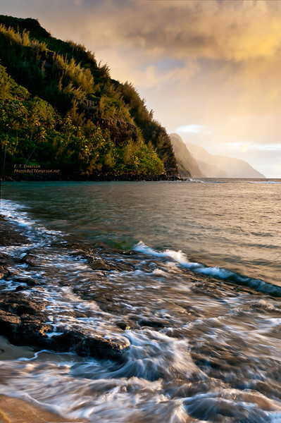 Ke'e Beach (Na Pali Coast) Sunset