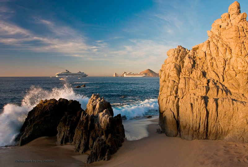 Los Cabos Beach at Sunrise
