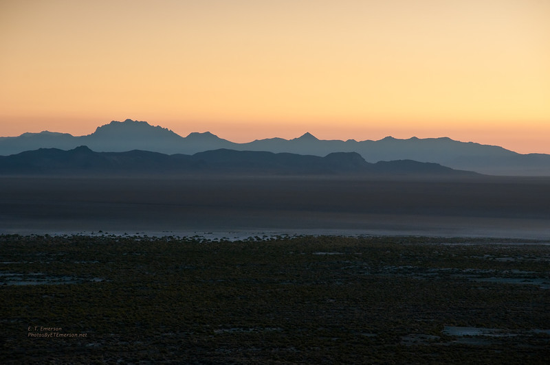 Black Rock Desert Sunrise