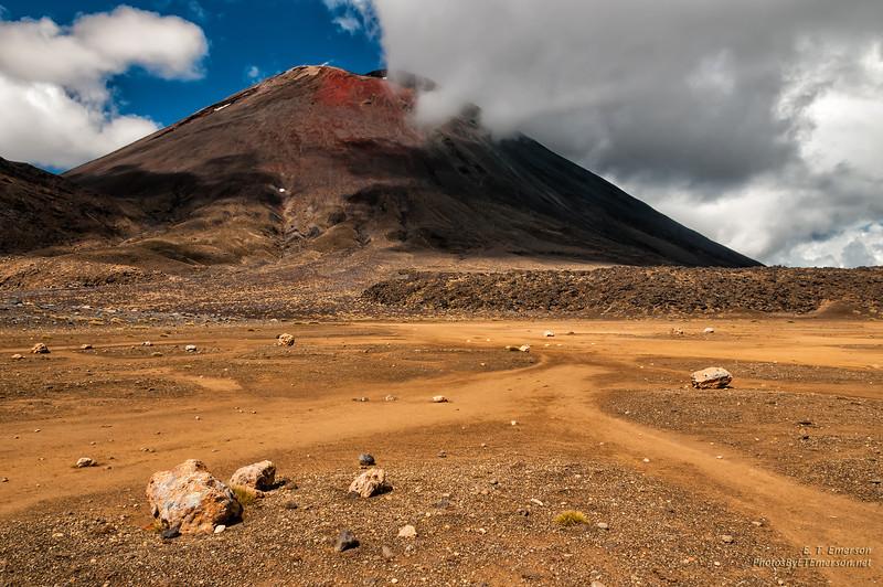 """""""Mt. Doom"""" in Tongoriro National Park, NZ"""