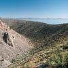 Mono Lake viewed from Panum Crater
