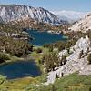 Lakes Between South Lake and Bishop Pass