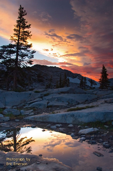 Desolation Wilderness Sunset