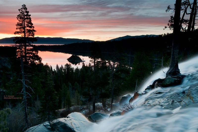 Eagle Falls Sunrise
