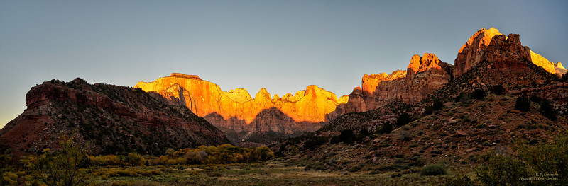 Zion's The Virgins at Sunrise
