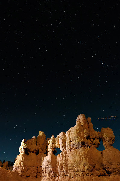 Bryce Canyon Night Sky