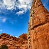 Knife-shaped Rock along Kodachrome's Nature Trail
