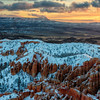 Bryce Winter Sunrise