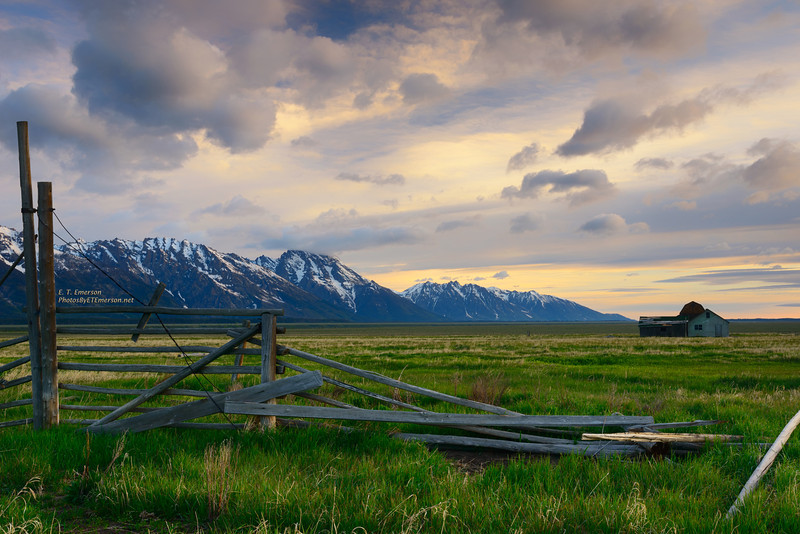 Mormon Ranch in Grand Tetons