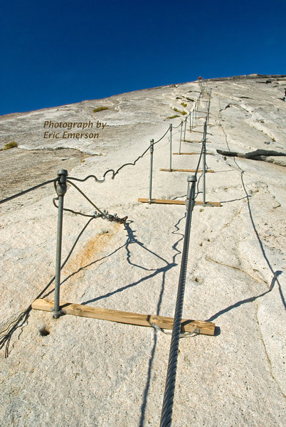 Cables on Half Dome