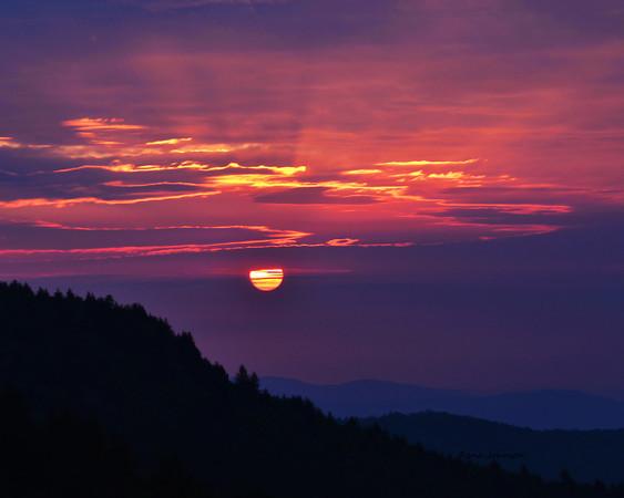 My Journey's First Sunrise