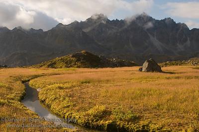 Late summer landscape, Talkeetna Mountains, Alaska