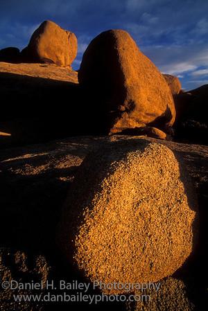 Three Rocks. Joshua Tree National Park, CA