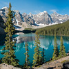 Moraine Lake in Banff - A Panorama