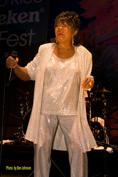 Koko Taylor Photo - The Heinkekin Jazz Festival in San Juan Puerto Rico in June  2007.
