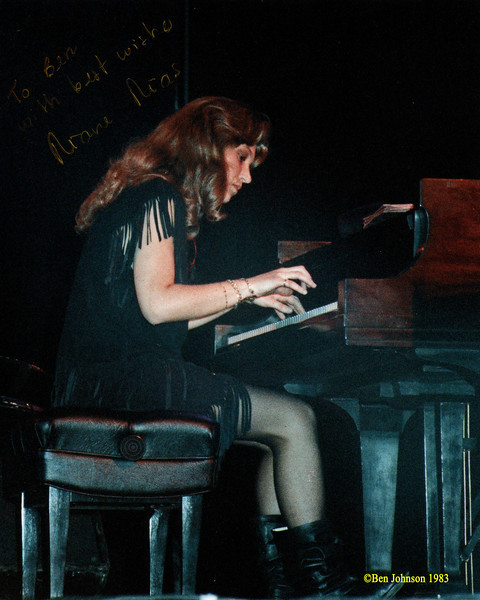 Eliane Elias playing with Steps Ahead at The 1983 Kool Jazz Festival at The Mann Center for The Performing Arts in Philadelphia, PA, June 12, 1983 -