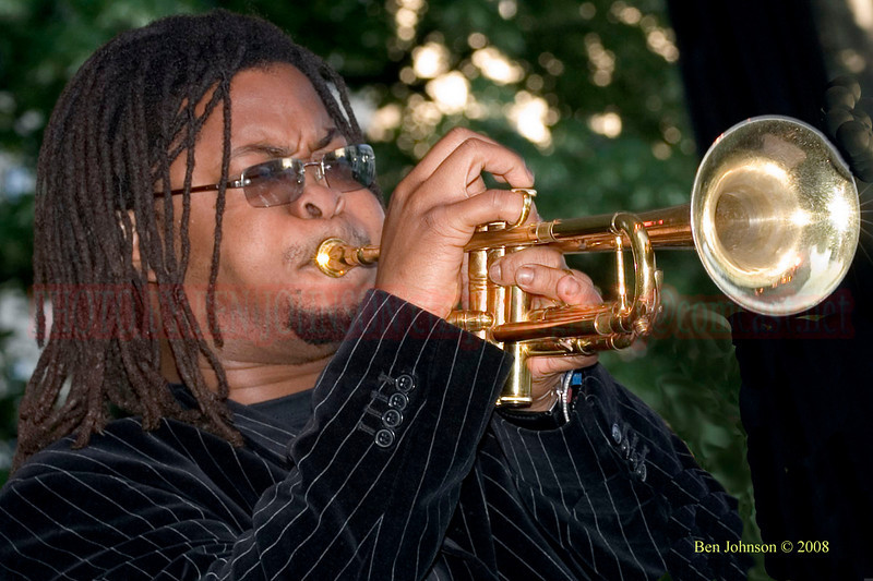 Maurice Brown  photo - The 2006 Dupont Clifford Brown Jazz Festival