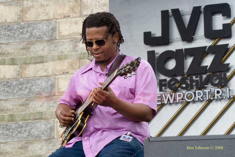 Jeff Ballard photo  - 2005 JVC Newport Jazz Festival