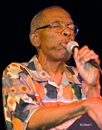 Jon Lucien photo - Last peformance at Zanzibar Blue in Philadelphia July 23,2006