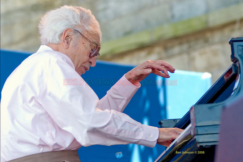 Dave Brubeck photo - The 2006 JVC Newport Jazz Festival