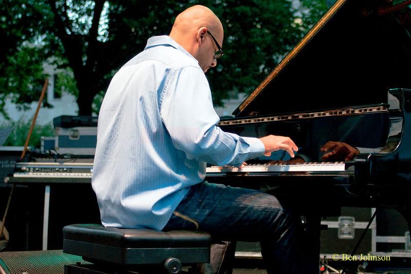 Luis Perdomo photo - 2010 Dupont Clifford Brown Jazz Festival