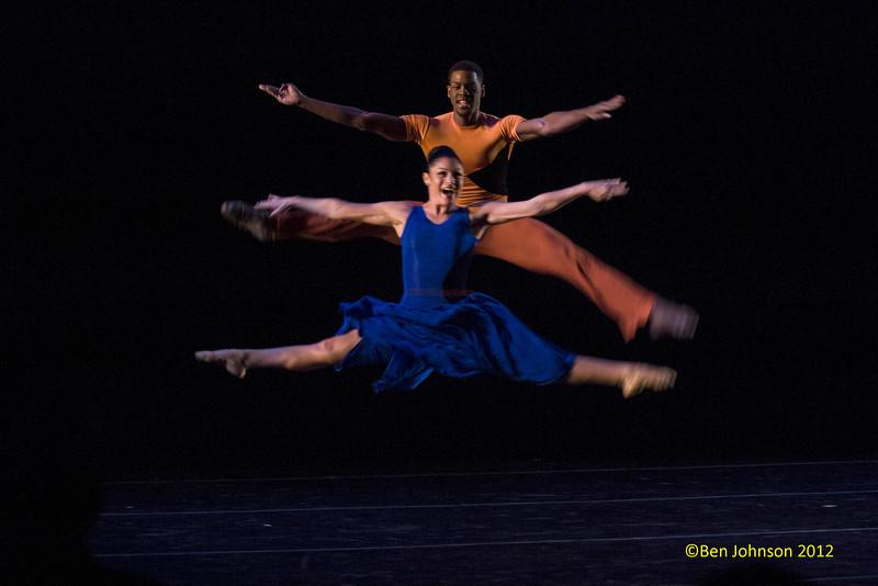 Philadanco performing 'Back To Black' at the Kimmel Center December 7, 2012