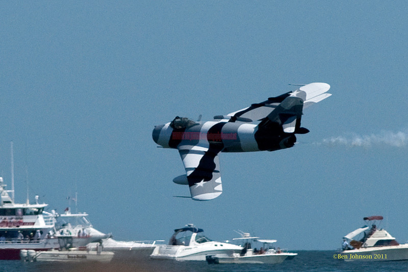 Mig Jet - performing at The 2011 Atlantic City Air Show, August 17, 2011