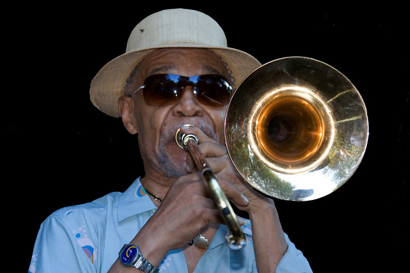 Benny Powell photo -  The 2008 Charlie Parker Jazz Festival New York City