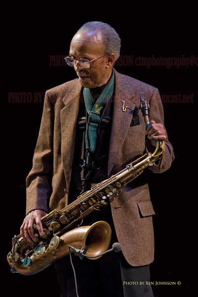 Jimmy Heath Photo -  The Gordon Theater on The Rutgers Camden Campus, May 8, 2009