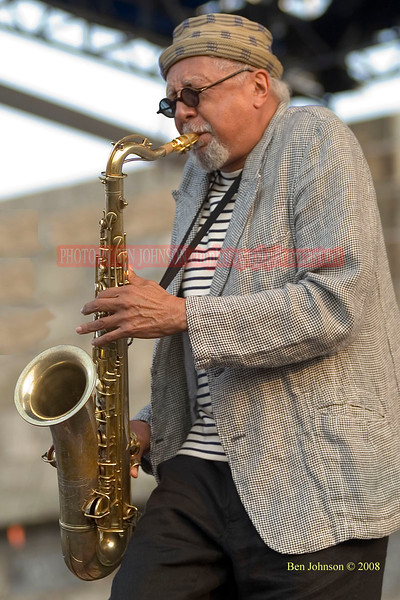 Charles Lloyd photo - The 2005 JVC Newport Jazz Festival