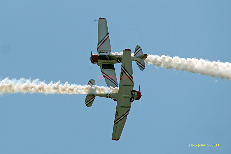 P51 Aircraft - performing at The 2011 Atlantic City Air Show, August 17, 2011