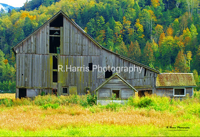 Prest Road Old Barn 13x19 signed print