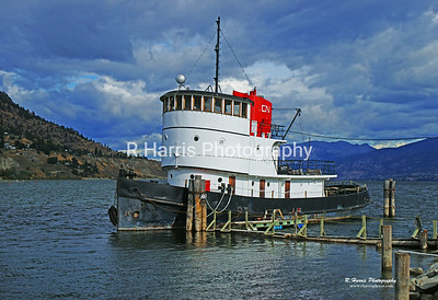 CN Tug in Penticton 13x19 signed print