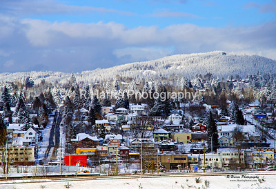 Mission City in the Winter 13x19 signed print
