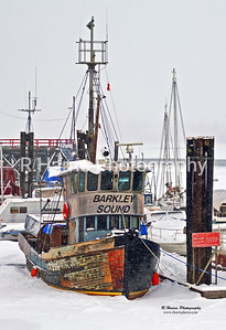 The Barclay Sound Tug13x19 signed print