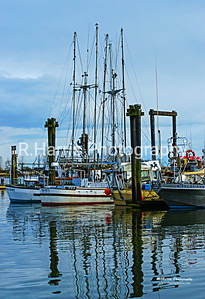 Royal Quest & Prancer Fishing Boats 13x19 signed print