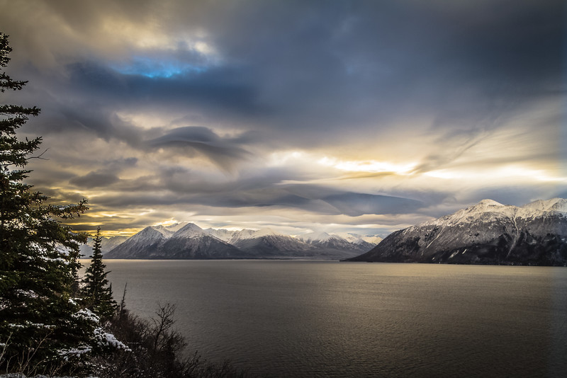 Turnigan Arm, south of Anchorage, AK.